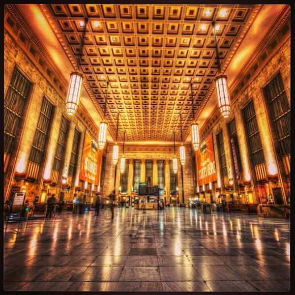 Philadelphia 30th Street Station, photo Martin L.