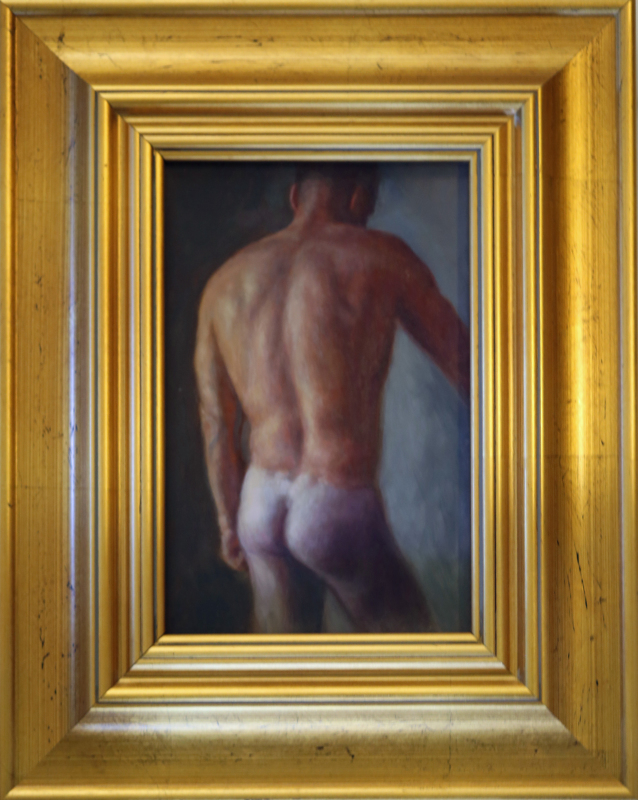 My winning Male Nude  By Irene Baily