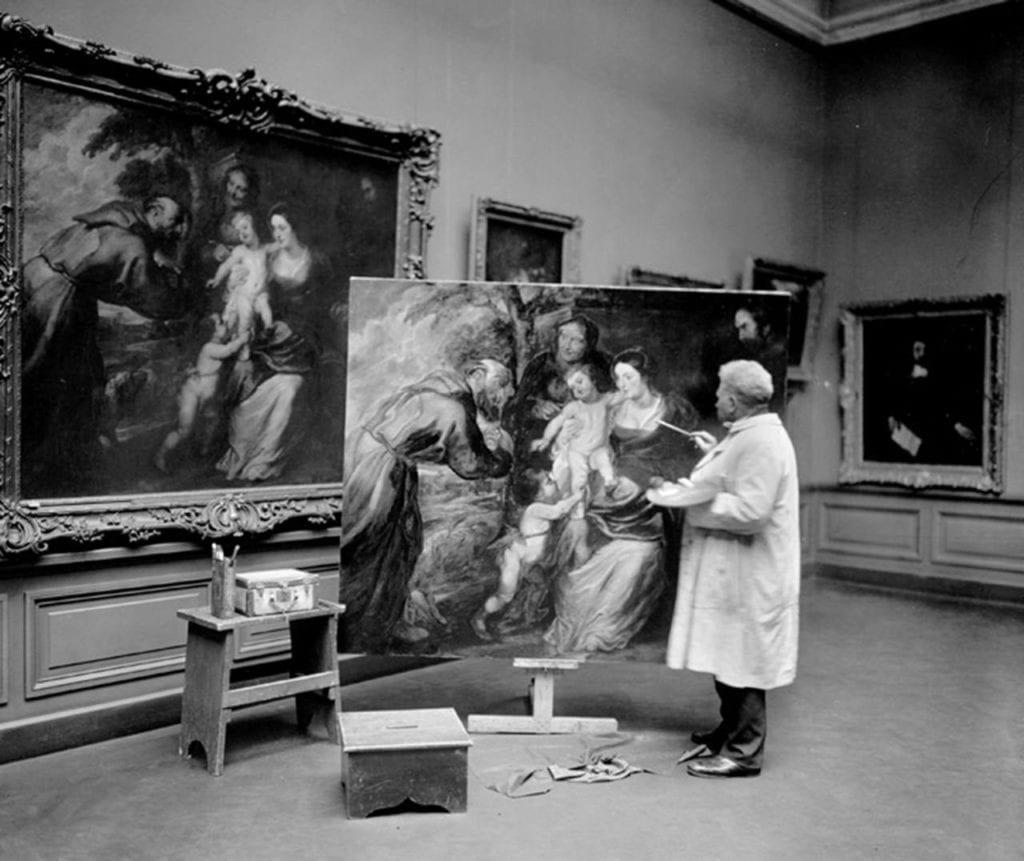 a-copyist-at-work-in-the-european-paintings-galleries-of-the-met-museum